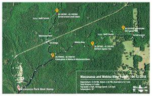 Waccasassa Paddle Map