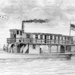 FS Lewis steamboat on Santa Fe Canal