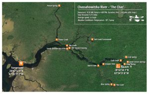 The Chassahowitzka Paddle Map
