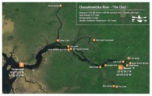 The Chassahowitzka Paddle Map