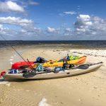 Kayaks on Atsena Otie