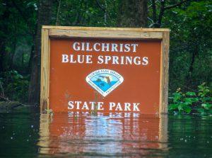 Sign-Gilchrist Blue Springs State Park