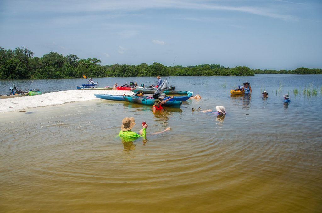 Last rest stop before paddling back