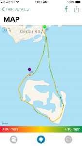 Paddle Logger - Trip Route