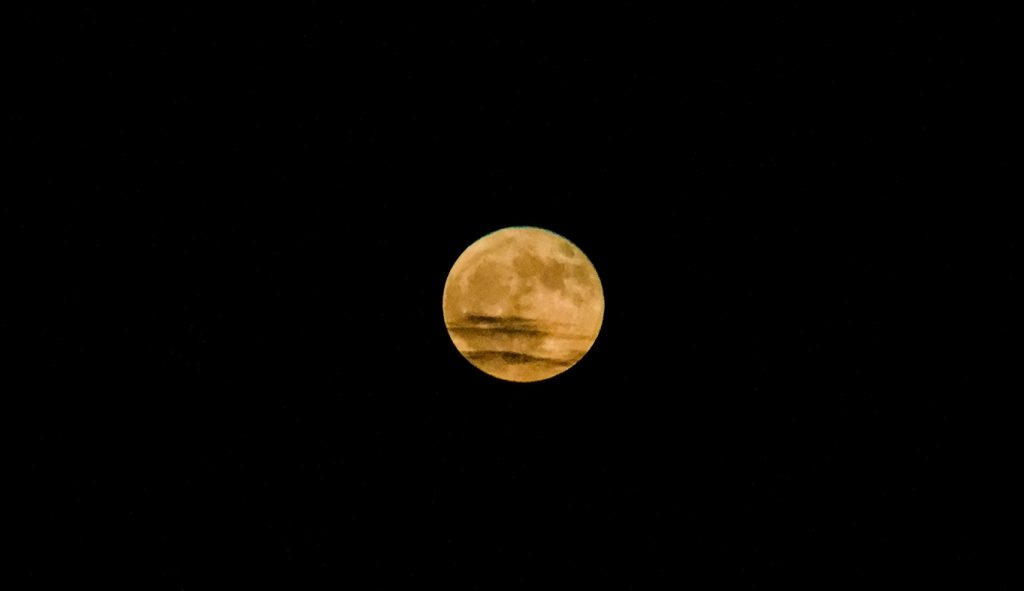 The August Sturgeon Moon