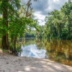 The Withlacoochee River break stop