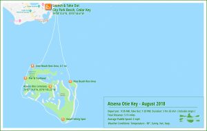 Paddle Map - Atsena Otie - Aug 2018