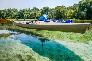 Elevated Kayak Effect on Rainbow River