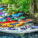 Kayak Parking at Mud Spring