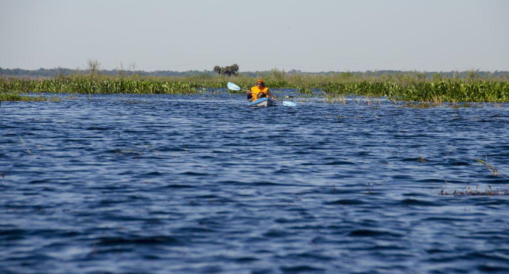 Paddling Alachua Lake aka Paynes Prairie