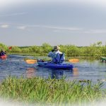 Paddling over the LaChua Trail
