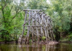 The Valdosta Railroad Trestle