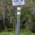 Entering Dunnellon on the Rainbow River