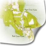 Cross Creek Topo Map