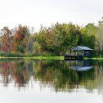 Lone boathouse on Lake Fanny