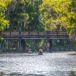 Paddling to Cross Creek Bridge