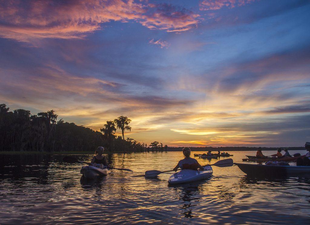 Kayak Sunset