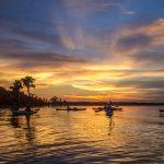 Kayak Sunset - Santa Fe Lake