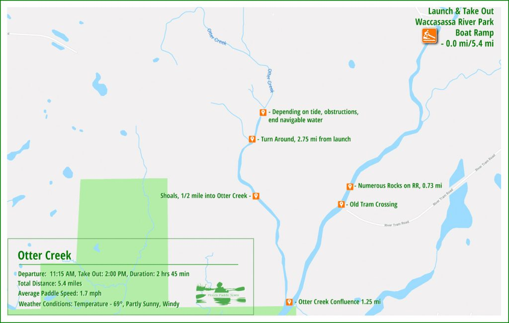 The Paddle Map - Otter Creek
