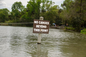 No Canoes Beyond this Point