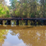 Track over Sampson Rowell Canal