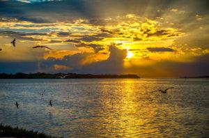 Sunset Mullet Bay Bayou
