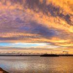Sunset over Mullet Key Bayou