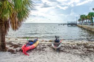 The launch at Cedar Key