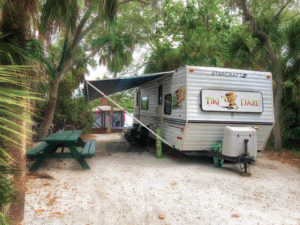 Tiki Daze at Ft. De Soto Campground