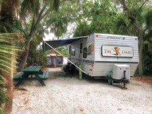 Tiki Daze at Ft. De Soto Campground