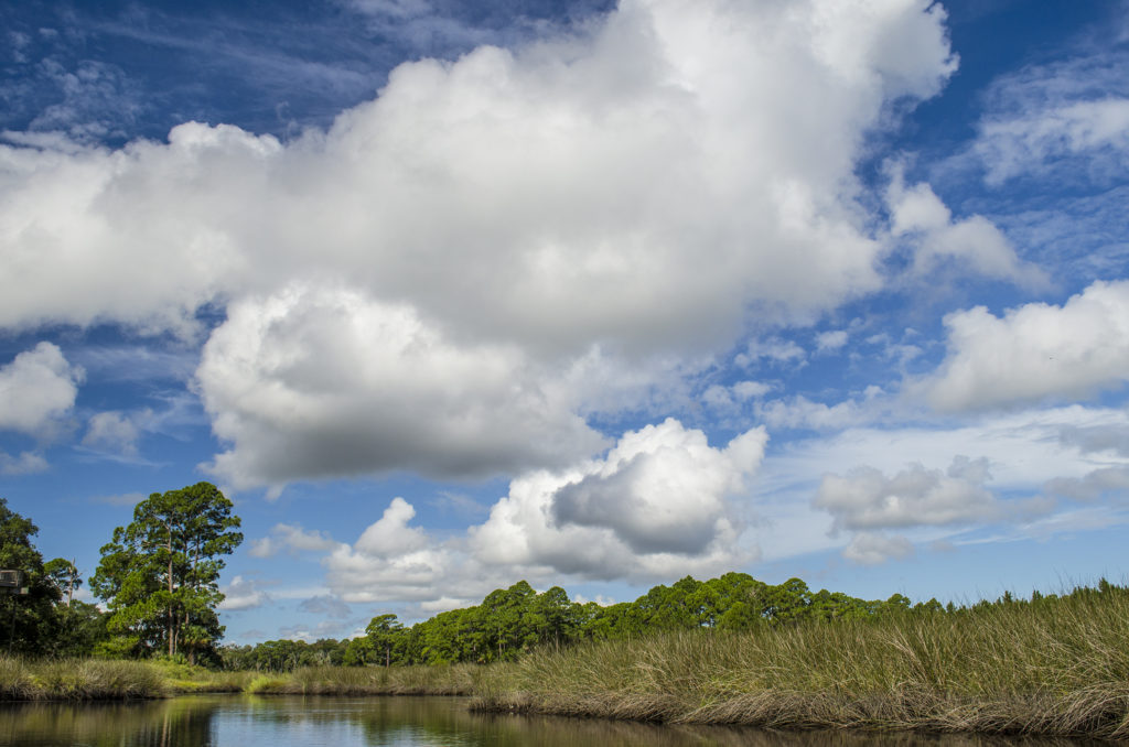 Clouds over Styles Creek