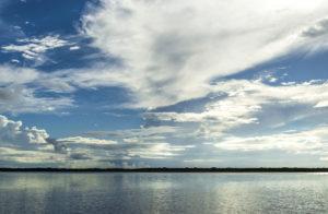 Morning Clouds over Pellicer Creek
