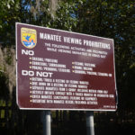 Manatee Viewing Prohibitions