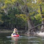 Paddling the Santa Fe River