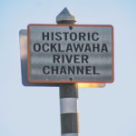 Historic Ocklawaha River Channel Marker
