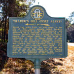 Trader Hill - Ft. Alert Historical Marker