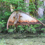 Old Boat Hull - Haw Creek