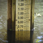 Water Gauge - 0.60' below Mean High Water Mark