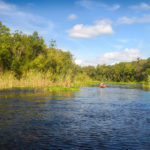 Paddling Alexander Spring Creek
