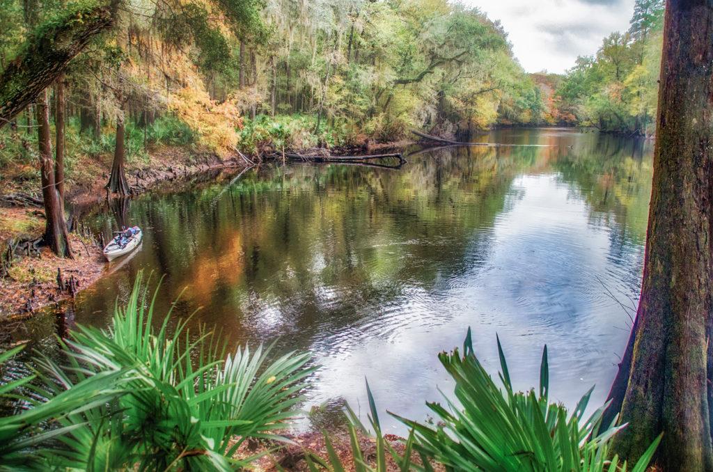 River Rise - Santa Fe River